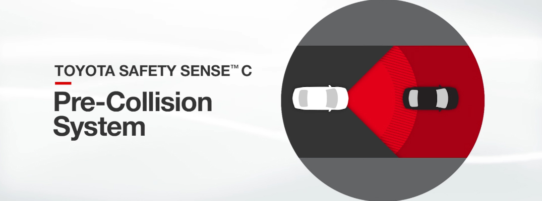 How Toyota Safety Sense Pre-Collision System (PCS) Works