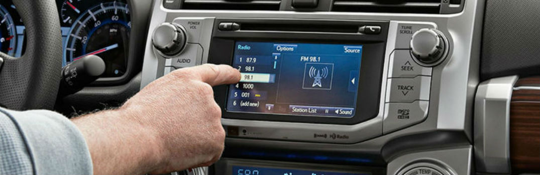 How to customize your Toyota Entune multimedia system