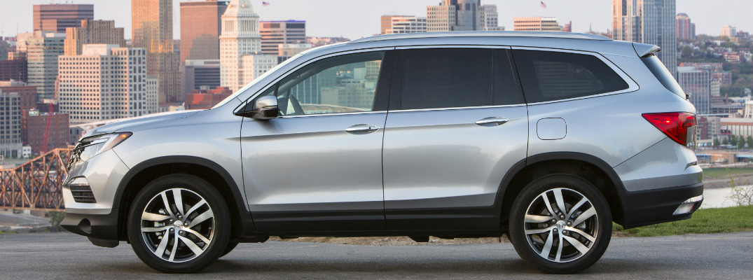 what is the cargo capacity of the 2017 honda pilot