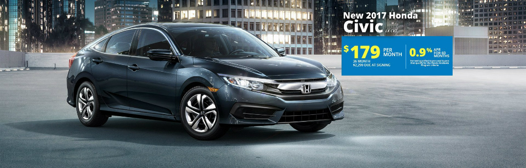 March 2017 honda lease specials lafayette in for Honda civic lease offers