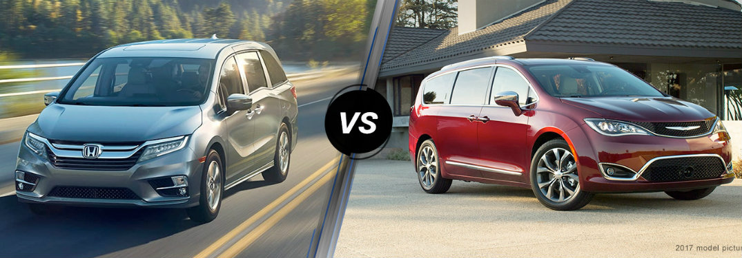 2018 Honda Odyssey Vs. 2017 Chrysler Pacifica