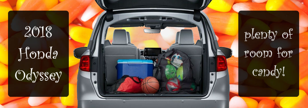 2018 Honda Odyssey Cargo Space for Candy