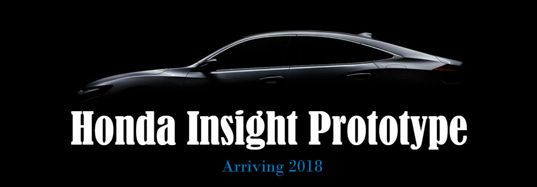 Preview of the 2019 Honda Insight Prototype