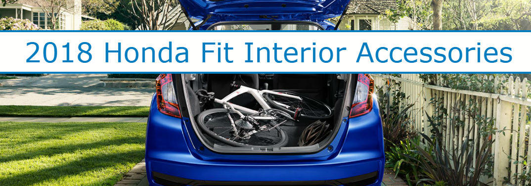 What are the available accessories for the 2018 Honda Fit