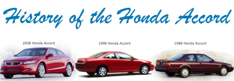 Noteworthy Honda Accord History Facts
