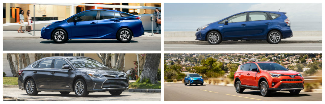 2017 toyota prius vs prius v vs avalon hybrid vs rav4 hybrid. Black Bedroom Furniture Sets. Home Design Ideas