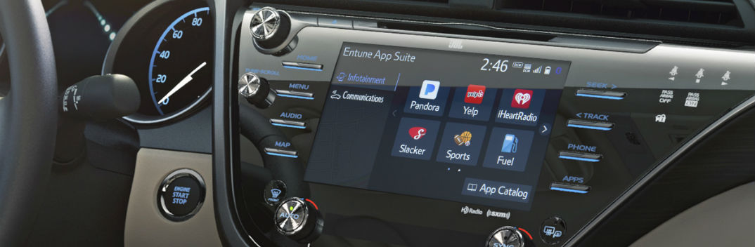 Entune 3 0 Navigation And Infotainment Apps 2018 Toyota Models