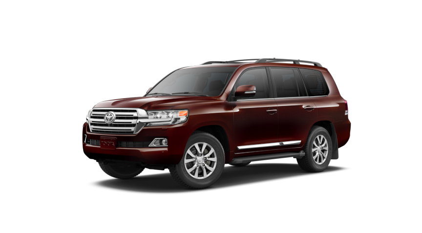 2017 Toyota Land Cruiser Color Options Exterior Paint And