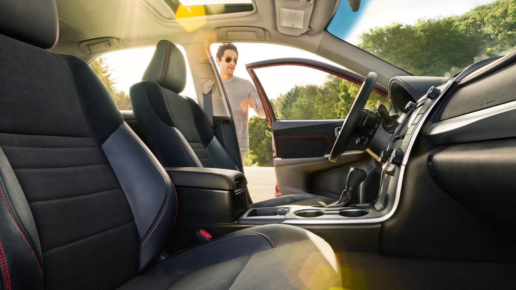 Toyota Camry XSE Trim Interior Fabric And Seating Options
