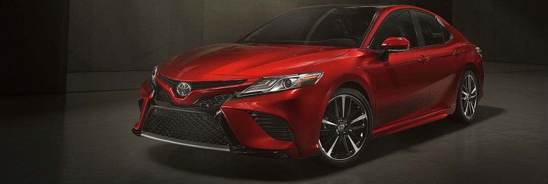 2018 Toyota Camry Exterior Paint Color Options and ...