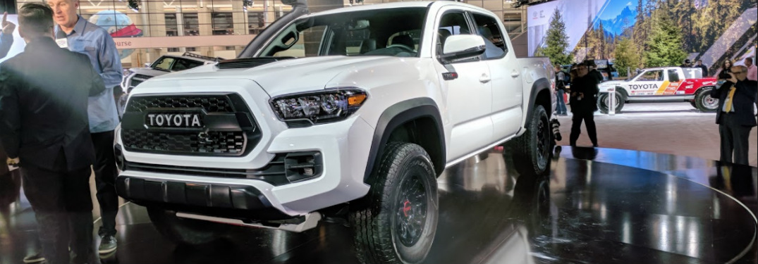 What's the New 2019 Toyota Tacoma TRD Pro Look Like?