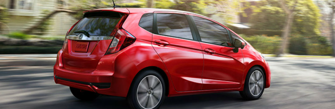 2018 Honda Fit on the road