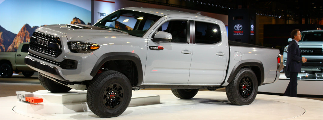 ... 2017 Toyota Tacoma TRD Pro Pictures And Performance Specs