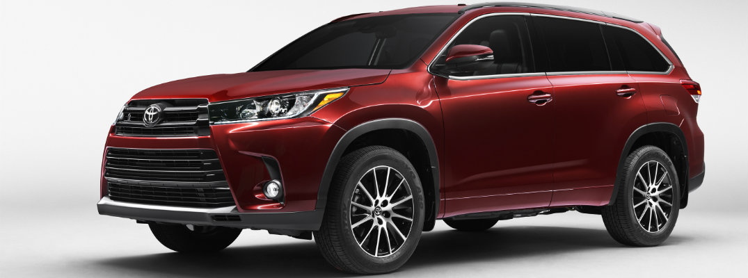 2017 Toyota Highlander Release Date And New Features
