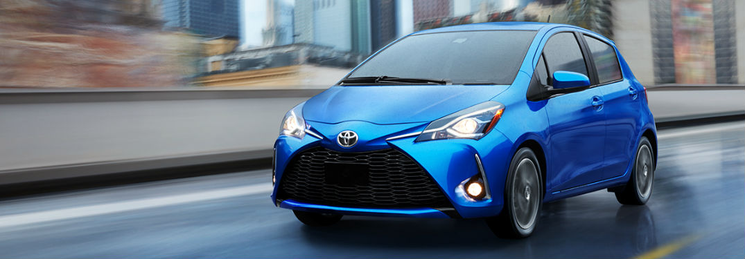 2018 Toyota Yaris Updates And Features