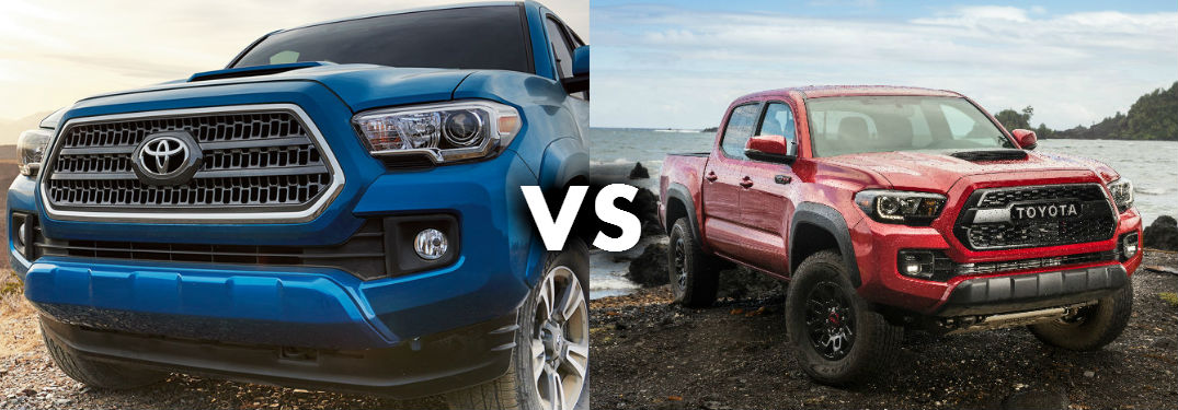 What Does Trd Stand For >> Differences Between the 2017 Toyota Tacoma and the 2017 Toyota Tacoma TRD Pro