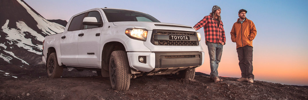 What Engine Choices Are Available On The 2017 Toyota Tundra?