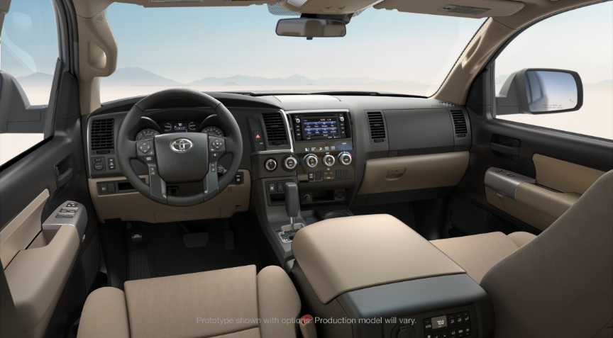 Toyota Sequoia Interior Colors