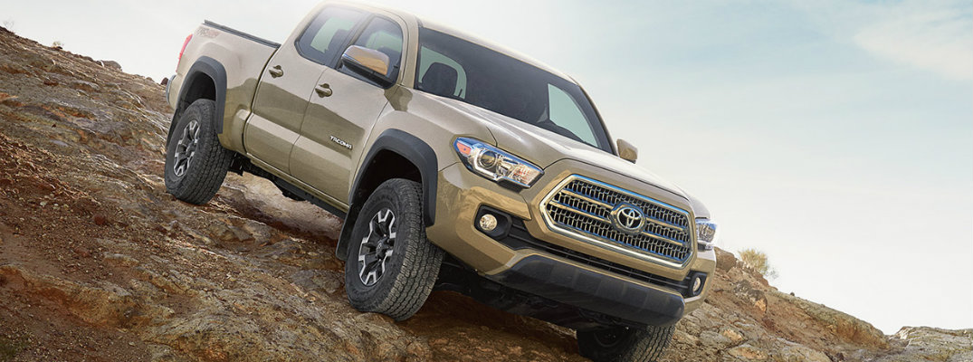 2017 Toyota Tacoma TRD Pro Named Mid Size Pickup Truck Of Texas