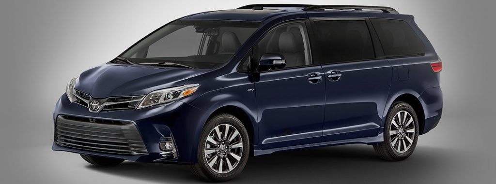 2018 toyota sienna maximum seating capacity and cargo volume. Black Bedroom Furniture Sets. Home Design Ideas