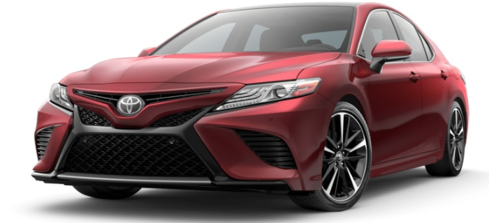 2018 Toyota Camry Exterior Paint Color Options