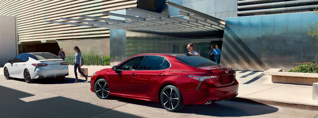 2018 Toyota Camry Recommended Tire Pressure Level