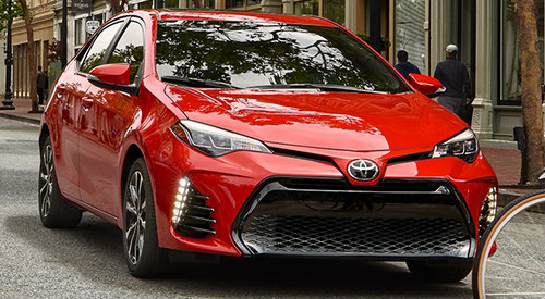 2018 Toyota Corolla Recommended Tire Pressure Level