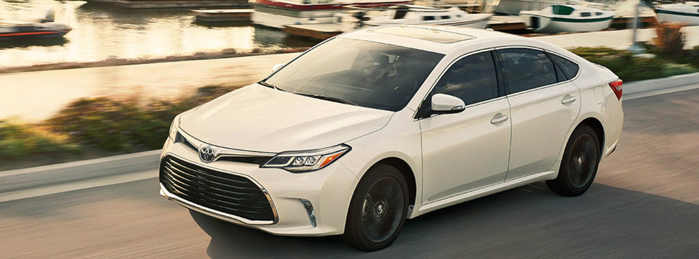2018 Toyota Avalon Fuel Economy And Maximum Driving Range