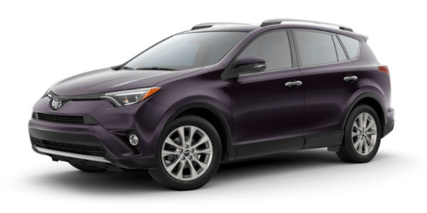 2018 Toyota Rav4 Exterior Paint Color Options