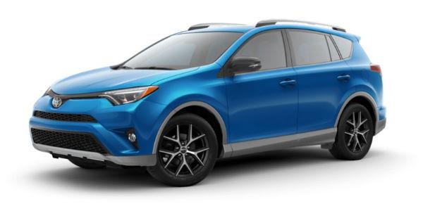 2018 Toyota Rav4 Exterior Paint Color Options