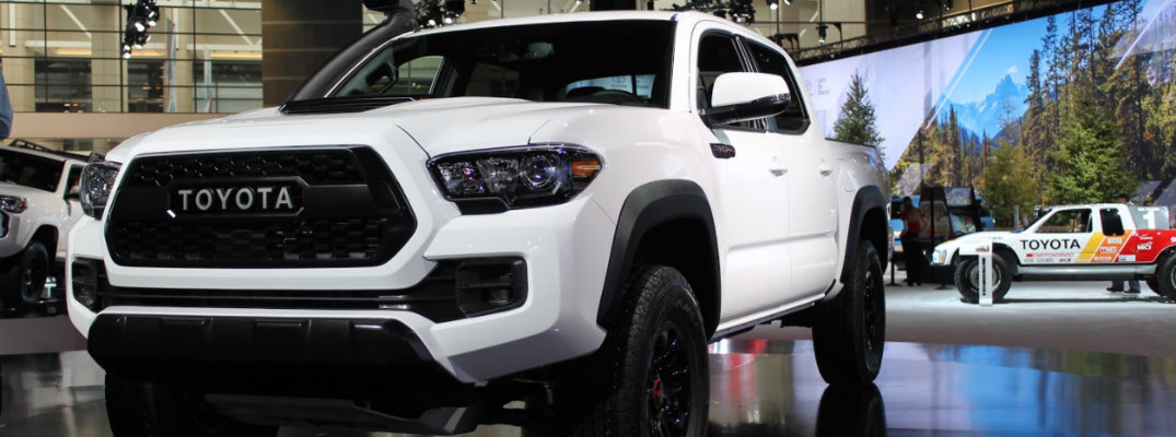 2019 Toyota Tacoma Trd Pro Chicago Auto Show Debut And New Features