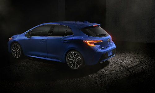 2019 Toyota Corolla Hatchback Cargo Volume And Interior Features