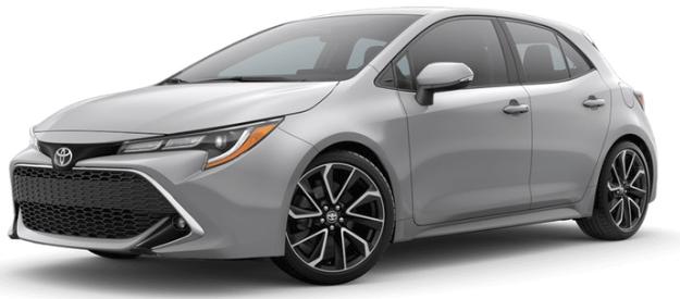 Toyota Dealer Long Beach >> 2019 Toyota Corolla Hatchback exterior paint colors - Bill