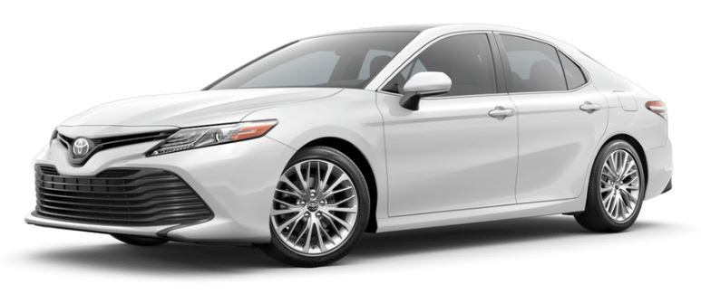 2019 Toyota Camry in Super White