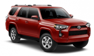 2019 Toyota 4Runner in Barcelona Red Metallic