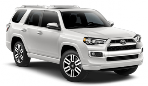 2019 Toyota 4Runner in Blizzard Pearl