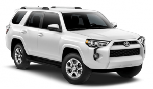 2019 Toyota 4Runner in Super White