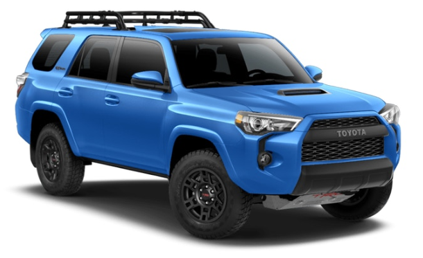 available exterior color options of the 2019 toyota 4runner