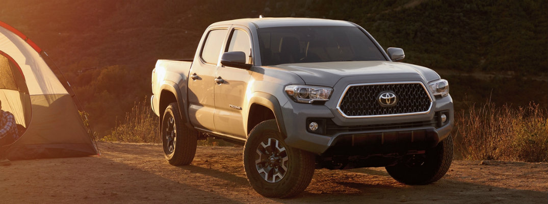 2019 Toyota Tacoma available exterior paint color options