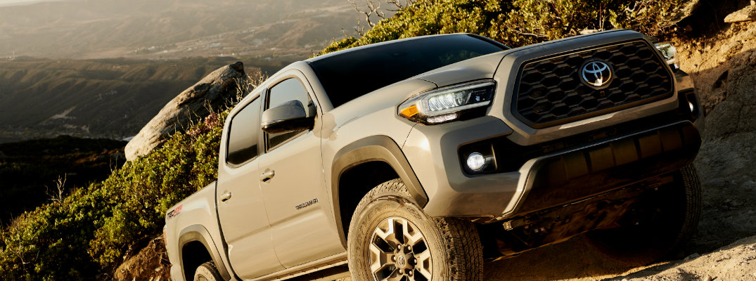 The 2020 Toyota Tacoma Takes A Big Step Forward