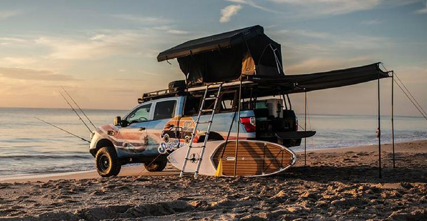 Nissan Titan XD Surfcamp