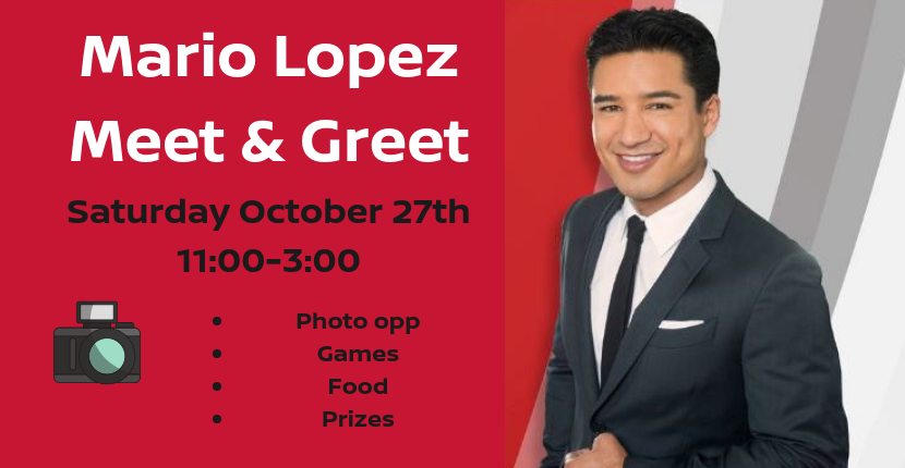 Mario Lopez meet and greet
