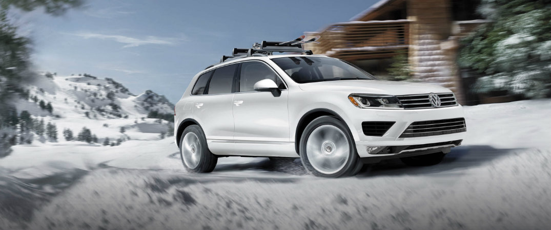 How is the VW Touareg in the snow?