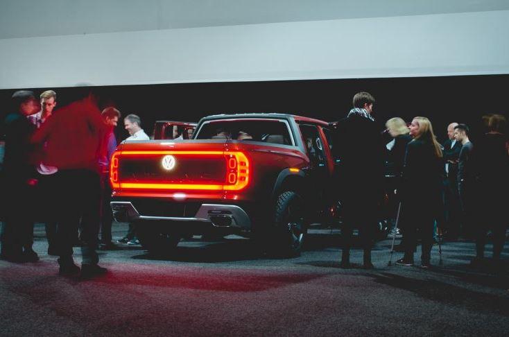 A Capable Volkswagen Pickup Truck Concept