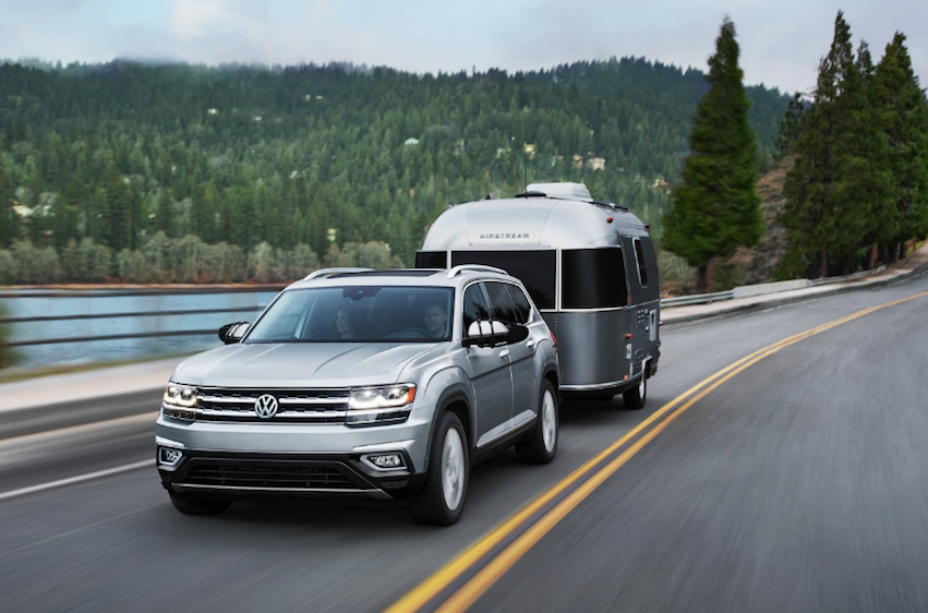2018 VW Atlas Towing and Cargo Capacities
