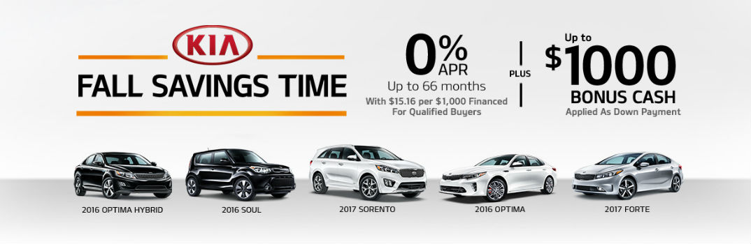 Fall Savings time lease special 2017 Sorento Forte Naples Fort Myers FL