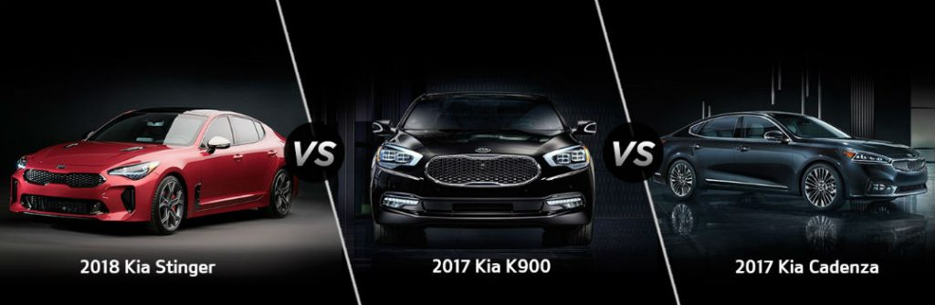 2018 Kia Stinger vs. 2017 Kia K900 vs. 2017 Kia Cadenza Engines