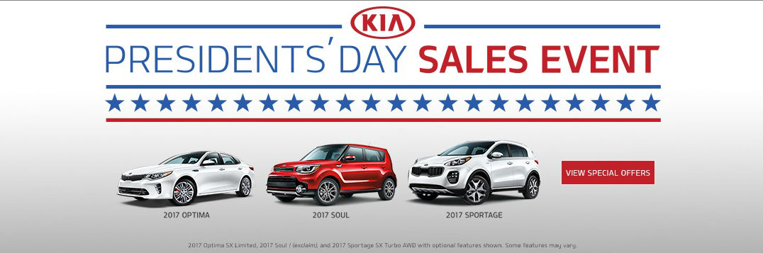 ... President's Day sales event 2017 Optima Soul Sorento Naples FL