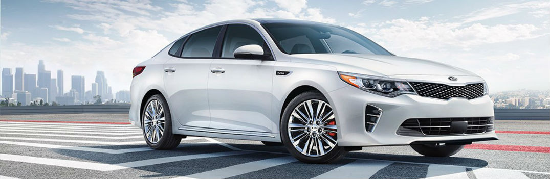 2018 Kia Optima exterior paint colors and interior fabric choices