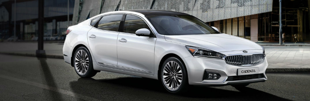 2017 Kia Cadenza luxury sedan